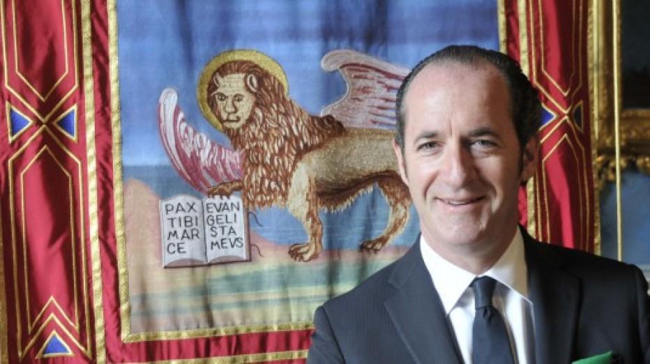 Intervista al Governatore del Veneto Luca Zaia del 27/10/2015
