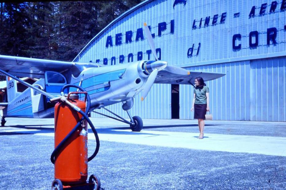 Notizie riguardo la riapertura dell'aeroporto di Cortina in località Fiames
