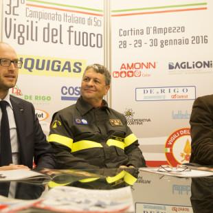 32^ edizione dei Campionati Italiani di Sci dei Vigili del Fuoco a Cortina d'Ampezzo