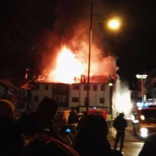 Intervista a Luca de Carlo, Sindaco di Calalzo di Cadore a proposito del violento incendio scoppiato nella notte del 20 gennaio