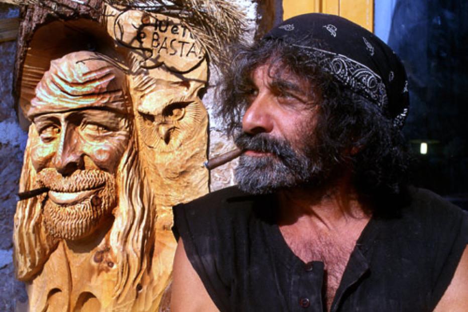 """Intervista a Mauro Corona per presentare l'incontro """"Le due facce dell'arte"""" di sabato 13 febbraio 2016 presso l'Hotel Miramonti Majestic"""
