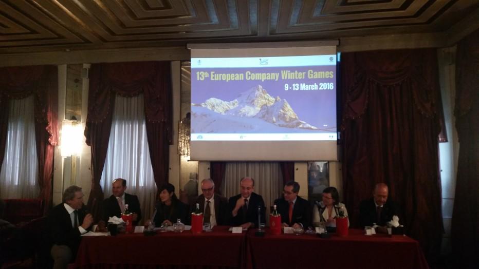 La montagna protagonista a Cortina con i Campionati Europei dello Sport d'Impresa e con la Prima Conferenza sul turismo montano