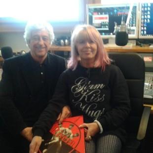 Intervista in diretta con Nives Milani a Gianni Rivera,ospite negli studi di Radio Cortina