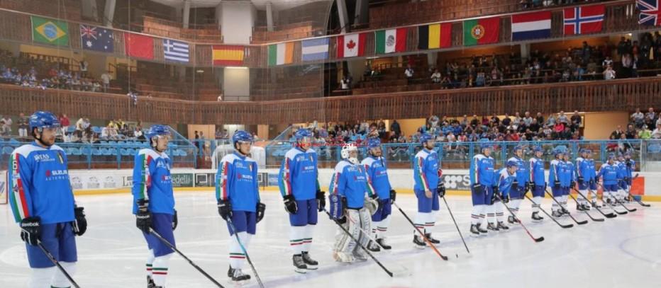 Hockey, Nazionale italiana a Cortina per le Qualificazioni ai XXIII Giochi Olimpici Invernali 2018
