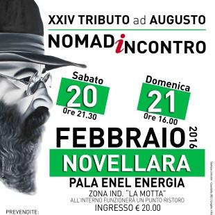 XXIV Tributo ad Augusto, Nomadincontro 20- 21 febbraio 2016. Intervista a Beppe Carletti