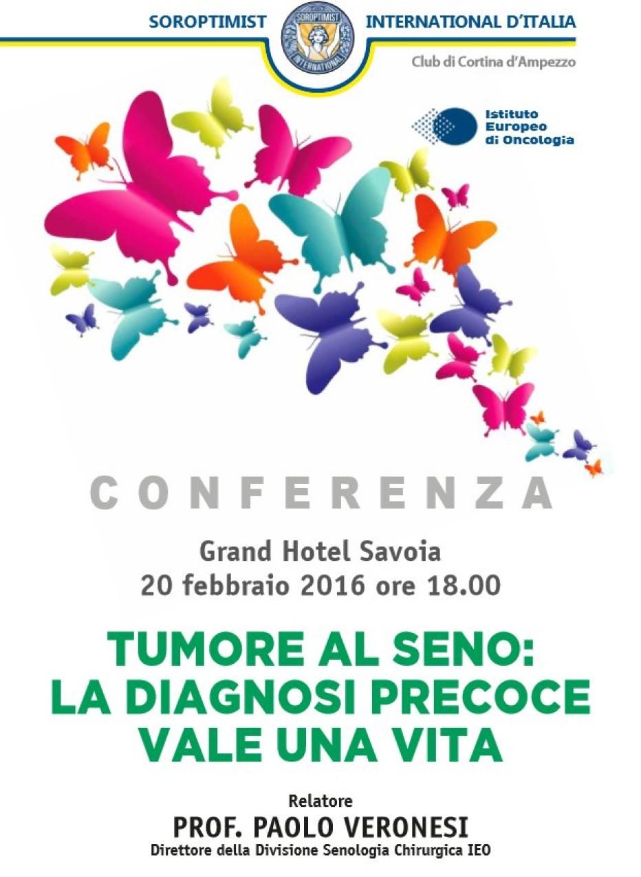 Intervista al Prof. Paolo Veronesi direttore della divisione di senologia chirurgica dell'istituto europeo oncologico di Milano