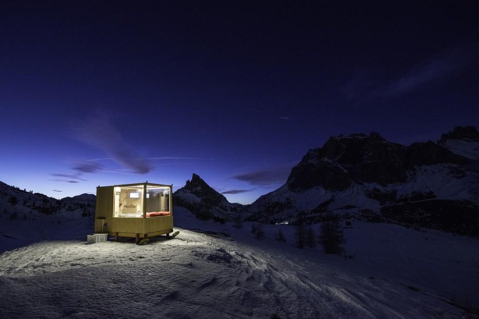 """A Cortina arriva la """"Starlight Room"""": il cielo in una stanza."""