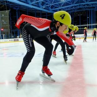 Intervista a Stefano Dotti per i Campionati Juniores di Short Track allo Stadio Olimpico del Ghiaccio di Cortina