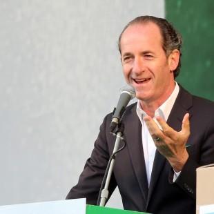 INTERVISTA IN DIRETTA CON IL PRESIDENTE DELLA REGIONE VENETO LUCA ZAIA DEL 25 OTTOBRE 2016