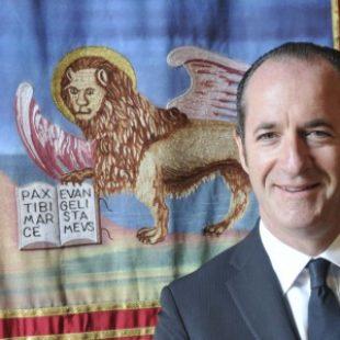 INTERVISTA AL PRESIDENTE DELLA REGIONE DEL VENETO LUCA ZAIA DEL 6 NOVEMBRE 2018