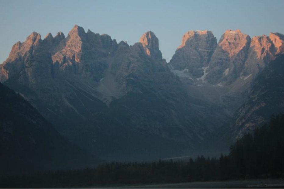 Monte Cristallo Cortina: comunicazione varianti percorribilità sentiero attrezzato