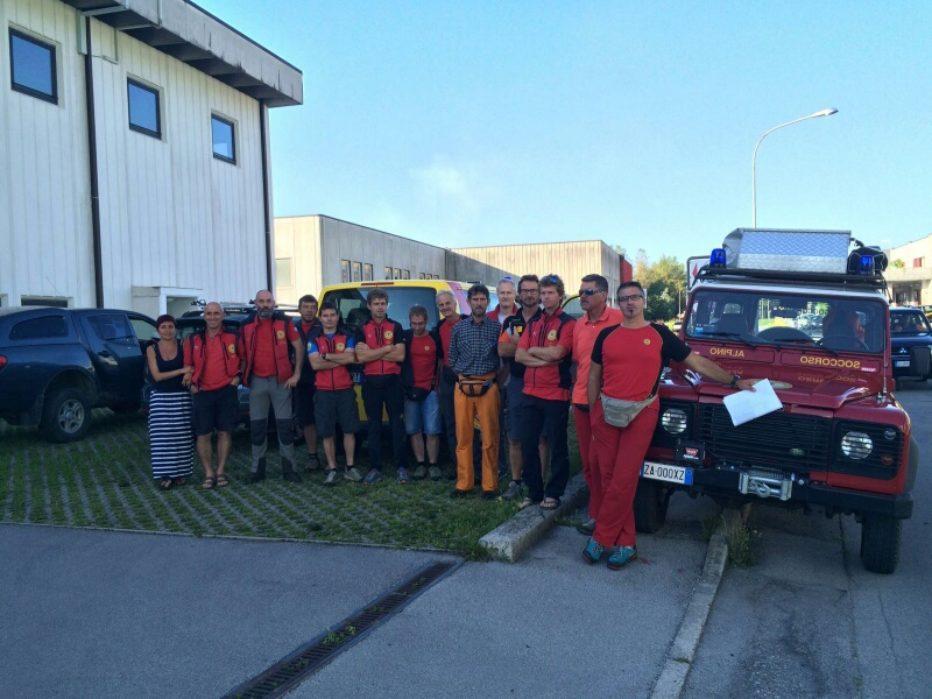 Domani 30 soccorritori del Veneto operativi nelle zone terremotate