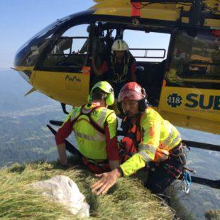 Interventi di oggi 27 agosto 2016 in Alpago e a Cortina d'Ampezzo del Soccorso Alpino