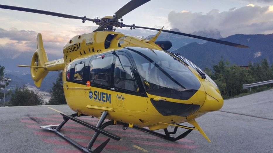 Scialpinista si infortuna in Val d'Arcia a Borca di Cadore