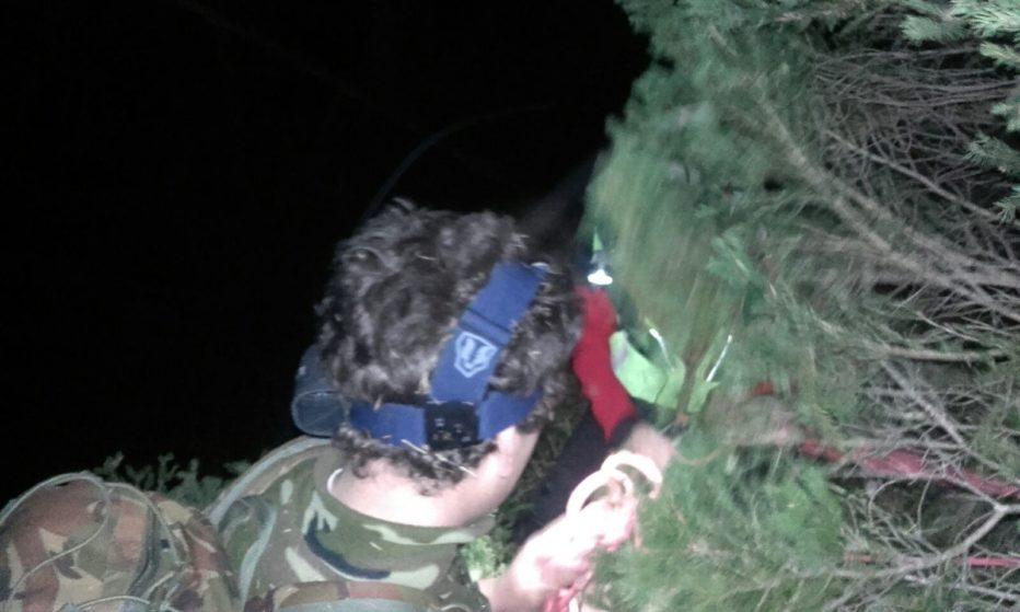 Recuperati nella notte padre e figlio cacciatori a Sappada