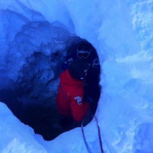 RECUPERATO SNOWBOARDER IN UN CREPACCIO DELLA MARMOLADA