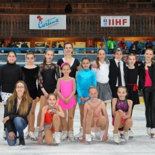 """Young band on ice 2017"": grande spettacolo di Ice Druscié Cortina e Young Band."