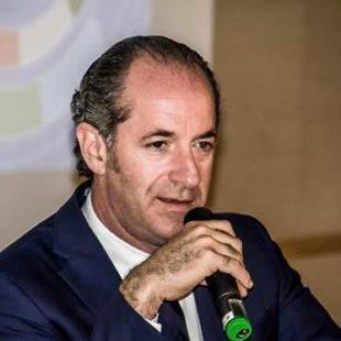 INTERVISTA AL PRESIDENTE DELLA REGIONE DEL VENETO LUCA ZAIA DEL 09 OTTOBRE 2018
