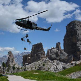 Esercitazione 5 Torri 2017 Il 4 luglio giornata di forti emozioni con le truppe da montagna dell'Esercito