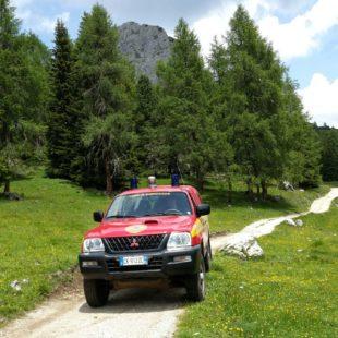 Soccorso Alpino e Speleologico Veneto: INFORTUNIO SULLA MULATTIERA