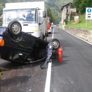 Incidente stradale Venas