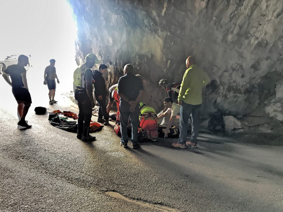 NUMEROSI INTERVENTI PER SUEM E SOCCORSO ALPINO: gravi le condizioni di un ciclista canadese