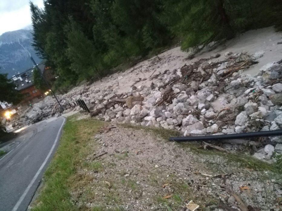 In Comune a Cortina si riunisce il Coc e fa il punto sulla calamità di Rio Gere