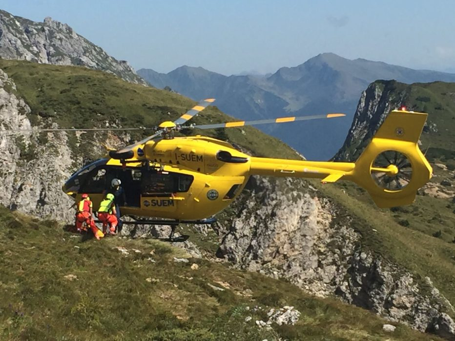 Recuperato escursionista affaticato in Faloria a Cortina