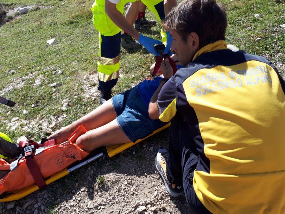 Gli interventi di oggi 29 agosto 2017 del Soccorso Alpino a Rocca Pietore, Auronzo e Cortina