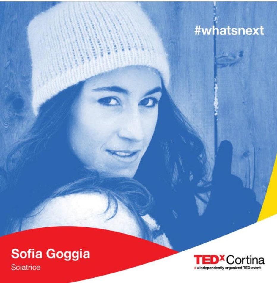 Sofia Goggia speaker a TEDxCortina