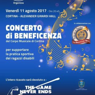 Soroptimist International Club di Cortina d'Ampezzo organizza un Concerto di Beneficenza del Corpo Musicale di Cortina a favore delle  famiglie di Alverà colpite dal recente nubifragio:ascolta l'intervista con la Presidente Katia Tafner