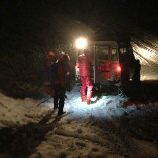 Intervento nella notte sulla Tofana di Rozes a Cortina