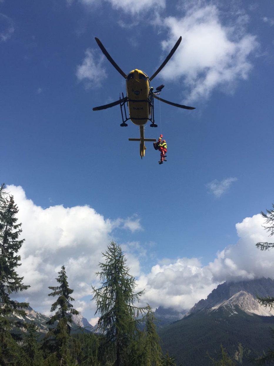 Due interventi oggi del Soccorso Alpino il primo al rifugio Vandelli e il secondo sul Piz Boè