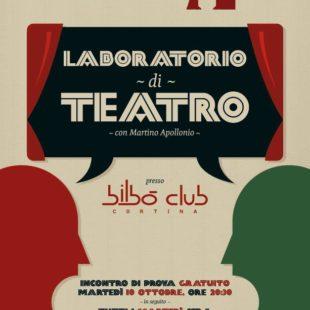Associazione culturale Repeat: si ricomincia! Martedì 10 ottobre alle 20h30 al Bilbò Club a Cortina Martino Apollonio ti aspetta per una lezione aperta