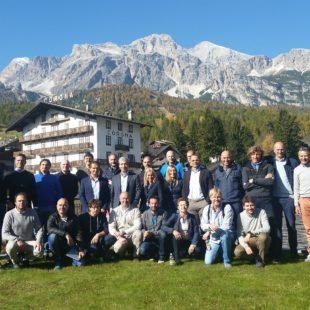 Conferenza stampa della Fondazione Cortina 2021 Alexander Hall del 20 ottobre 2017