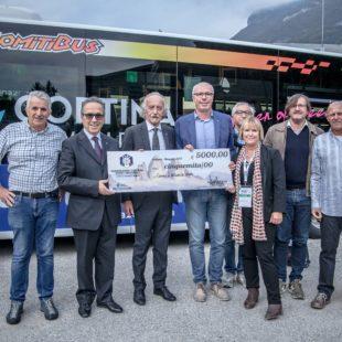 FISI VENETO A SOSTEGNO DELLE MARCHE: Assegno di 5 mila euro consegnato al comitato Fisi Umbro Marchigiano e al Comune di Arquata del Tronto