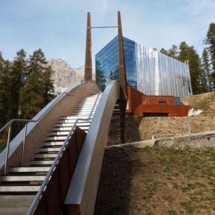 Il 2 giugno verrà inaugurata la palestra di roccia di Cortina