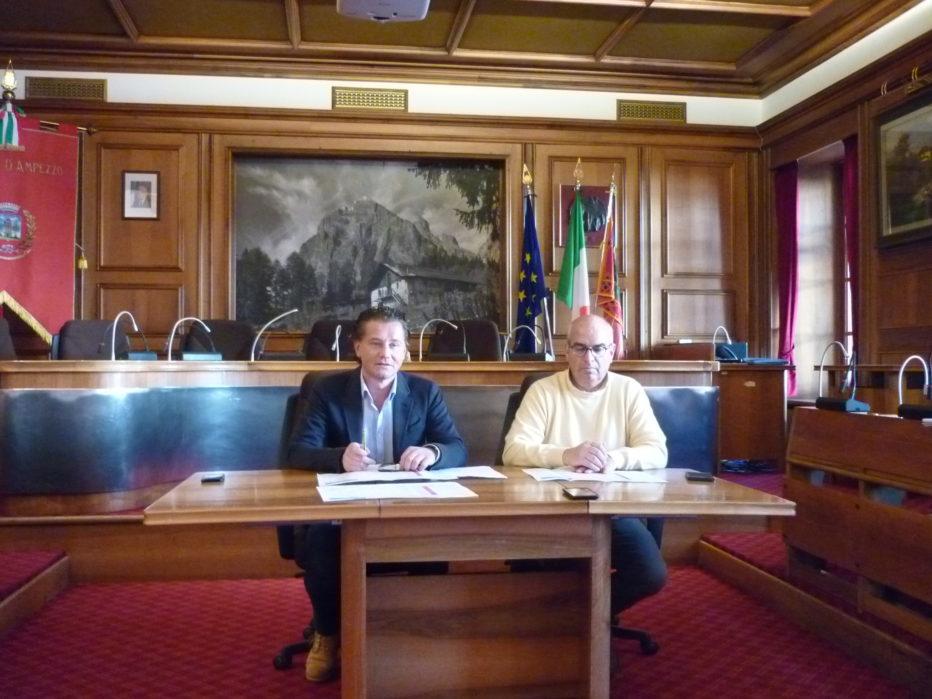 CORTINA 2021: L'AMMINISTRAZIONE COMUNALE DI CORTINA D'AMPEZZO PRESENTA IL PIANO DEGLI INTERVENTI PER I CAMPIONATI MONDIALI DI SCI ALPINO 2021.INTERVIENE IN STUDIO ALESSANDRA SEGAFREDDO.