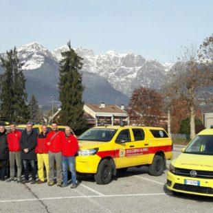 Assemblea Soccorso Alpino Speleologico del Veneto: consegnati nuovi mezzi