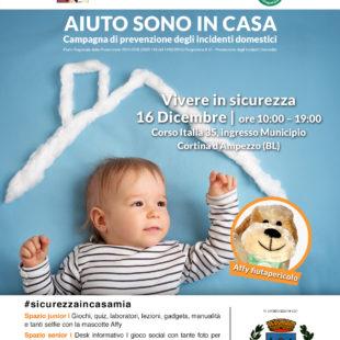 """""""Aiuto in casa tour"""" arriva a Cortina d'Ampezzo."""