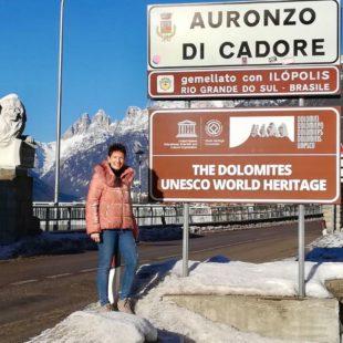 """Ad Auronzo di Cadore la targa """"Comune delle Dolomiti UNESCO"""""""
