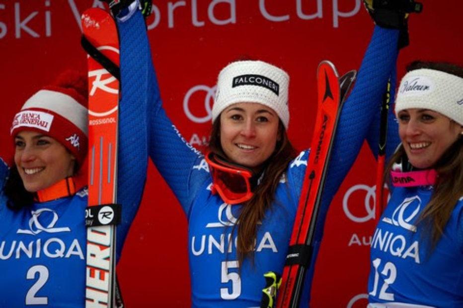 Coppa del Mondo di Sci Femminile a Cortina d'Ampezzo:ascolta i collegamenti quotidiani con la nostra corrispondente Alessandra Segafreddo