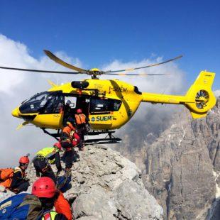 Gli interventi di ieri e di oggi del Soccorso Alpino