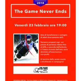 ASTA DI BENEFICENZA: PATAGONIA STORE A CORTINA D'AMPEZZO LA ORGANIZZA VENERDI' 23 FEBBRAIO a sostegno di Cortina Never Ends