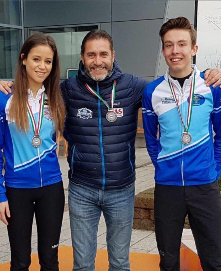 Curling club Fontel: intervista a Valeria Girardi e Giacomo Colli,medaglia d'argento alle finali di Double Mix.
