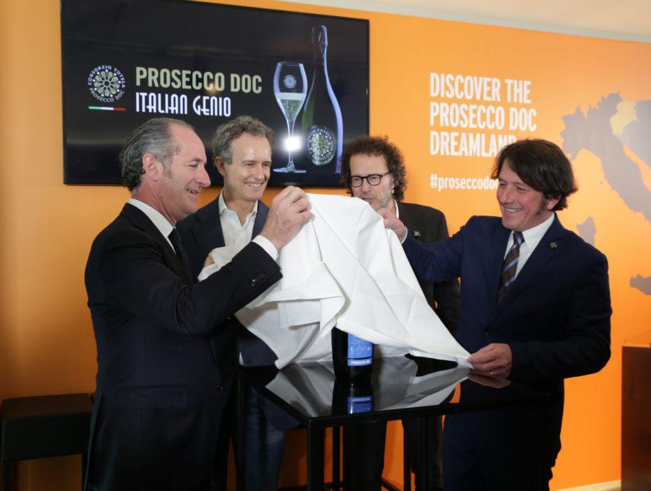 Prosecco DOC e Fondazione Cortina 2021  brindano insieme verso i Campionati del Mondo di Sci Alpino del 2021.
