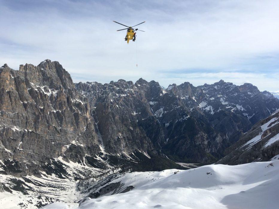 Due giovani del Soccorso Alpino perdono la vita sull'Antelao