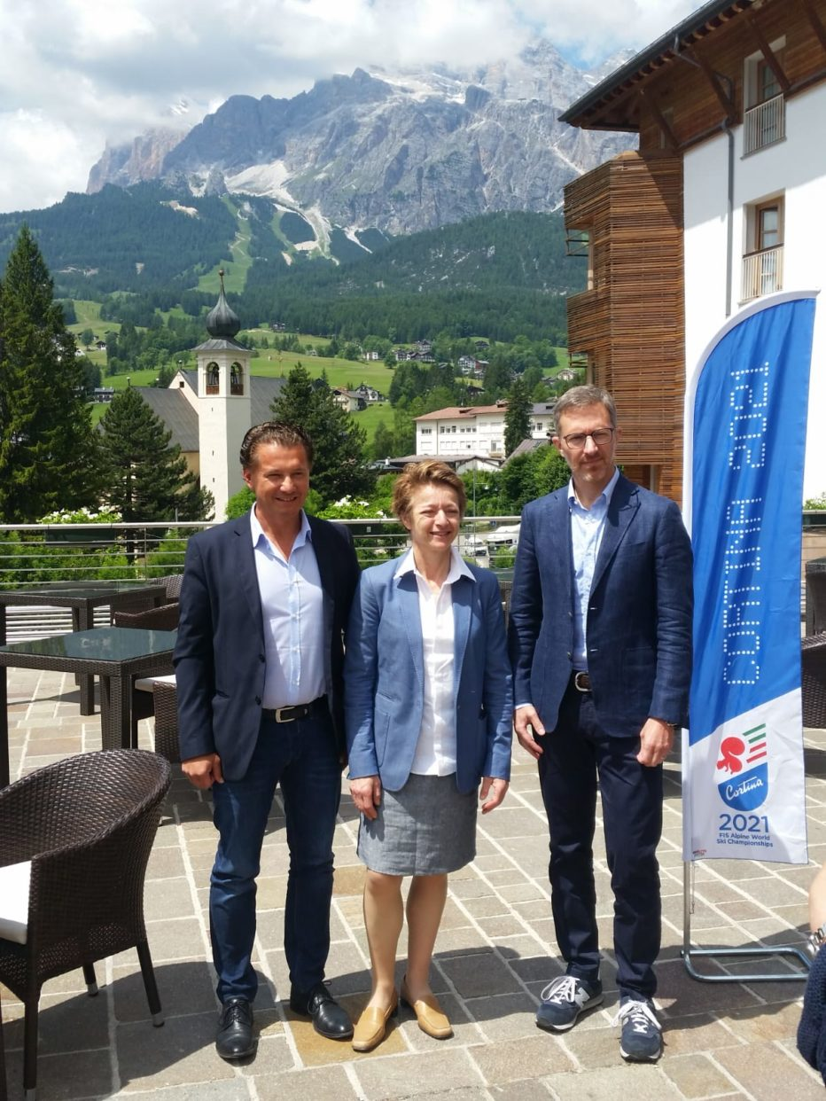 4° Coordination Meeting Cortina 2021:  forte spirito di squadra e senso di comunità