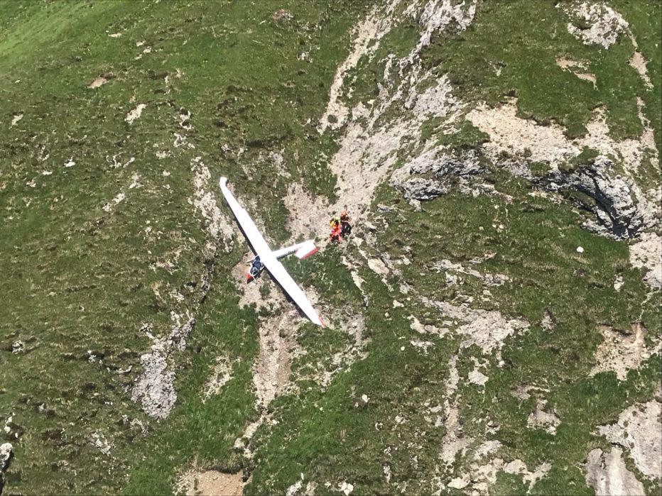 INDIVIDUATO L'ALIANTE, IL PILOTA RITROVATO SENZA VITA