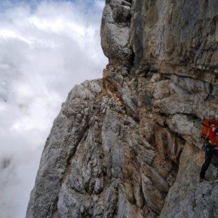 Soccorso alpinista sul Campanil di Toro a Domegge di Cadore